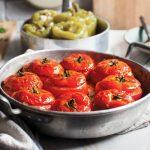 עגבניות כובע במילוי בשר