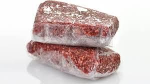 איך להקפיא בשר טרי?