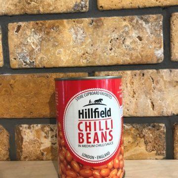 הילפילד-שעועית פינטו ברוטב עגבניות חריף,400 גרם
