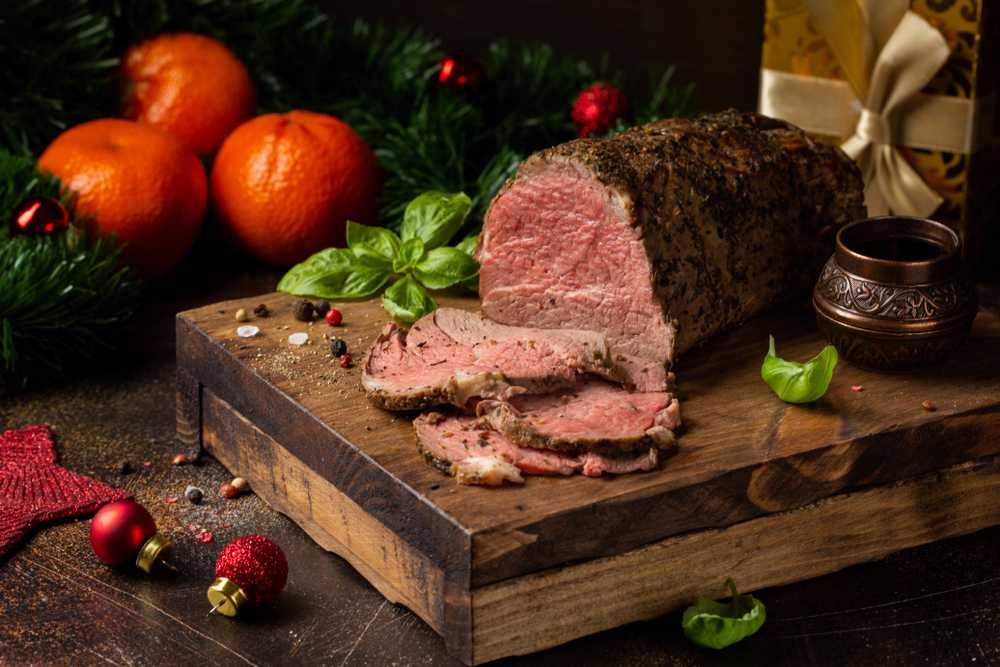 נתח בשר בתנור